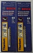 "Bosch TI2132 5/64"" Titanium Jobber Drill Bit Carded 2-2 Packs - $2.97"