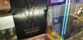 BLACK OPIUM Neon Yves Saint Laurent YSL EDP Spray 1.2 ml 0.04 oz Her Min... - $29.99