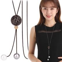 Elegant Ball Long Necklaces & Pendants 2019 Fashion Jewelry Personalized... - $16.79