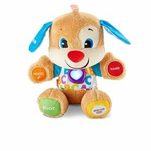 Fisher-Price Smart Toddler Learning Toy Electronic Stages Puppy Laugh Learn Soft - $30.53