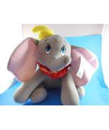 "DUMBO 12"" Plush ELEPHANT Authentic Disneyland World Resort with hat & Ta... - $11.08"