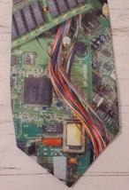 Ralph Marlin Tie Necktie Computer Circuit Board Vtg Electronics Pc Mouse Us 1994 - $14.46