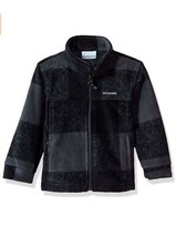 Columbia Baby Boys Zing III Buffalo Plaid Fleece Jacket Graphite 12-18 M... - $18.69