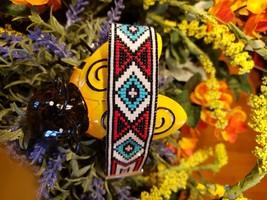 Turquoise Diamonds Loom Bracelet - $45.00