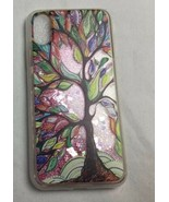 IYCK For iPhone X - Colorful Tree Glitter Stars Liquid Water Case, Two C... - $28.04