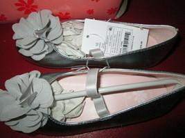 Toddler Girls Kadisha Dressy Ballet Flats from Flower By Nina size 10 - $13.50