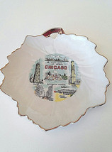 """Vintage Chicago Souvenir Mini Plate Collectible O'hare Sears Tower 5"""" - $9.90"""