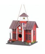 *18076B  Schoolhouse Birdhouse - $17.35