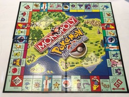 Pokemon Monopoly Collectors Edition 1999 Gotta Catch 'em All! Board Only... - $14.65