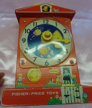 Fisher Price Musical Tick Tock Teaching Clock Music Japan Movement-Works... - $272.25