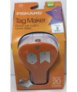 (New) Fiskars Tag Maker 2 Punch - Banner/Artisan - $24.74