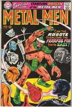 Metal Men Comic Book #27 DC Comics 1967 FINE- - $15.44