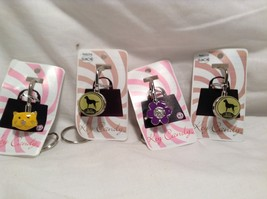 NEW Key Candy Set of 4 Key Locks Labrador & Cute Cartoon
