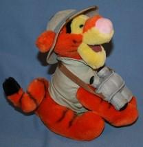 """Walt Disney World Safari Tigger Plush 8"""" Winnie the Pooh Jungle Binocula... - $17.46"""