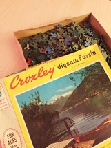 """Vintage 50s Milton Bradley Croxley Jigsaw Puzzle- #4611 """"A Day for Dreaming""""  image 6"""