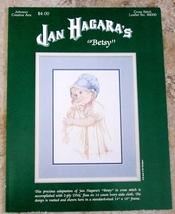 "Pattern-Cross Stitch-JAN HAGARA'S ""BETSY"" Johnson Creative Arts - $7.00"