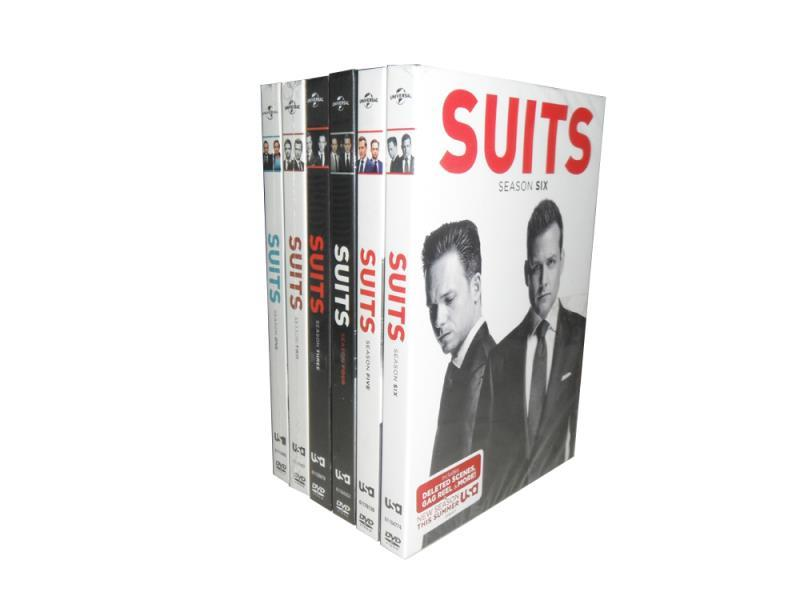 Suits The Complete Seasons 1-6 1,2,3,4,5,6 DVD Box Set 24 Disc Free Shipping