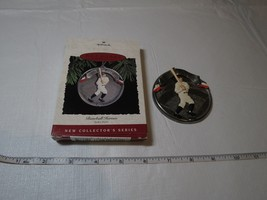 Hallmark Babe Ruth Keepsake Ornament Baseball heroes 1994 RARE Christmas... - $9.49