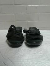 Women's Dansko Black Size 9.5 / 41 Open Toe Sandals Shoes - $19.79