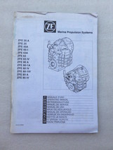 ZF Marine Propulsion Systems Operation & Maintenance Book Service Manual... - $9.73