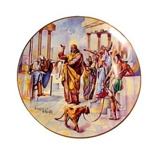 86733a let my people go collectors plate promised land vintage christian religious thumb200