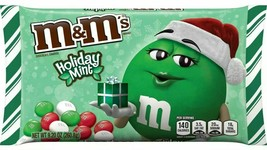 M&M's LIMITED EDITION HOLIDAY MINT Chocolate Candy 9.2 ounces NEW