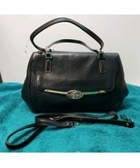 COACH 25169 MADISON SMALL LEATHER MADELINE EAST/WEST SATCHEL BLACK - $59.40