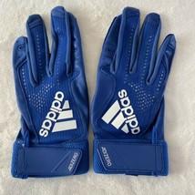 Adidas AdiZero 4.0 Baseball Batting Gloves Royal Blue Large New - $42.56