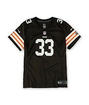 NFL Team Apparel Womens Med Cleveland Browns Richardson Jersey 244  - $52.33