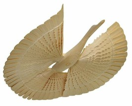 Wooden bird of happiness with flat tail 10-30 cm, Russia folk craft - $11.65+