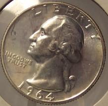 1964 Proof Silver Washington Quarter PF65 #M071 - $8.79