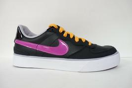 MUJER Nike Dulce As 83 Zapatos Talla 6.5 Uva Negro Púrpura Blanco 407992 050 - $19.97