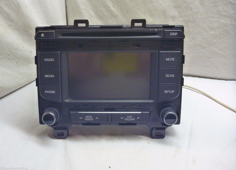 2015 15 Hyundai Sonata Radio Cd Player 96180-C20004X C57229