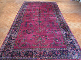 10 X 18 Hand Knotted Red Antique Lilahan Oriental Rug 100% Wool G1928 - $3,959.01