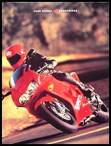 1998 Honda Motorcycle SportBike Brochure, Interceptor - $11.26