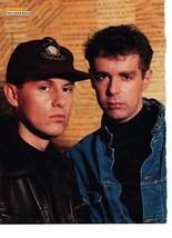 Pet Shop Boys teen magazine pinup clipping Vintage 1980's Bravo Tiger Beat Bop