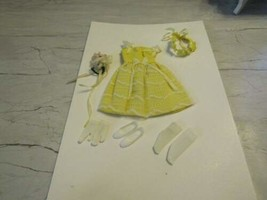 1964-65 Mattel BARBIE-SKIPPER #1904 Flower Girl Outfit Complete VF-EXC !! - $49.45