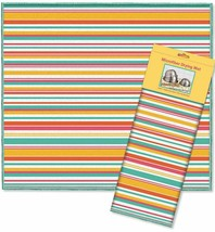 "Kitchen Microfiber Dish Drying Mat (16""x18"") SUMMER MULTICOLOR STRIPES, ... - $16.82"