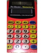 Vintage Educator Elementary Overhead Calculator No. 202 Great for Home S... - $14.01