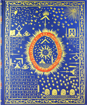 HAUNTED SCHOLAR 777X MASONIC GOLDEN KEYS BLESSING JOURNAL EXTREME MAGICK WITCH  - $177.77