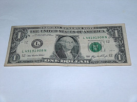 2006 $1 Dollar Bill US Bank Note Year Date Birthday 4919 1908 Fancy Mone... - $13.78