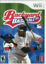 Backyard Baseball '09 (Nintendo Wii, 2008) No Manual - $2.96