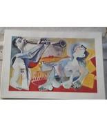 Vintage Artwork Print - Picasso - VGC - NICELY FRAMED - GREAT PRINT FAMO... - $118.79