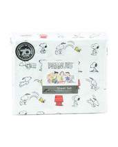 Berkshire Peanuts Snoopy and Woodstock Classic Play Polyester Sheet Set Twin - $37.00