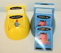 Cranium Turbo Ed Game Blue Yellow Cards replacement pcs Creative Cat Wor... - $19.95