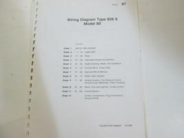 Porsche 928S Model 89 Wiring Diagrams Manual FACTORY OEM Book Loose Leaf... - $67.28