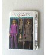 Mccalls M4930 Sewing Pattern Classic Fit MIsses Dress Pant Jacket Size 1... - $4.94