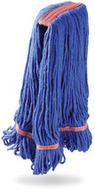 Libman Commercial 968 Large Blue Blend Wet Mop Head, Blend of Cotton, Ra... - $108.58