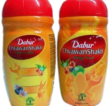 3 Jars Dabur ChyawanShakti Herbal Energy Food 500gram - $28.00