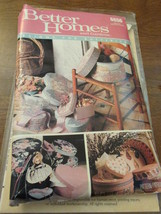 Vintage Better Homes And Gardens 6656 Decorative  Boxes Patterns - $7.95